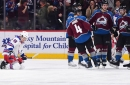 Avalanche snap losing skid with 6-1 rout over Rangers