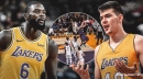 Video: Lakers' Lance Stephenson gets fancy with dish to Ivica Zubac