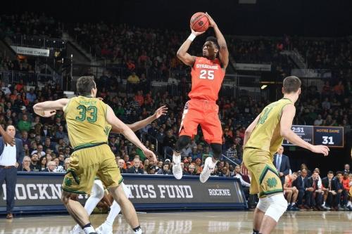 Syracuse 72, Notre Dame 62: Big second half lifts Orange over Irish