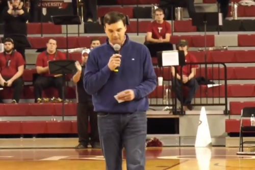 WATCH: New West Virginia football head coach Neal Brown says goodbye to Troy fans