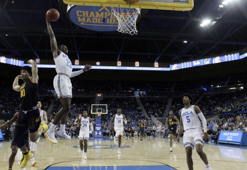 UCLA men's basketball uses defense to offset sloppiness and beat Cal