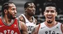 Video: Bucks' Eric Bledsoe slices through Kawhi Leonard, Danny Green for the slam