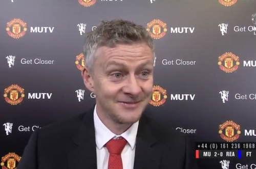 Ole Gunnar Solskjaer loved Manchester United fans chant about Mike Phelan's shorts