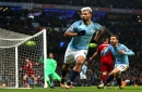 Pep Guardiola hails Man City striker Sergio Aguero for impact in 'lucky' win over Liverpool FC