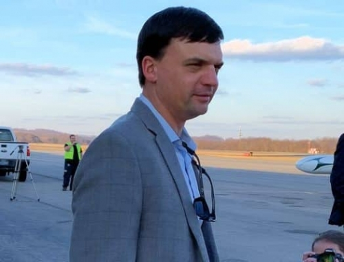 New WVU Head Coach Neal Brown Makes First Arrival In Morgantown