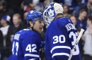 Trevor Moore will get bounced to the AHL when Zach Hyman returns