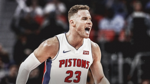 Pistons star Blake Griffin says he is more vocal now