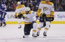 Nashville Predators 4, Toronto Maple Leafs 0: Forsberg's Return Inspires Shutout in Toronto