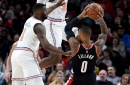 Blazers Overwhelm Knicks with Balanced Attack