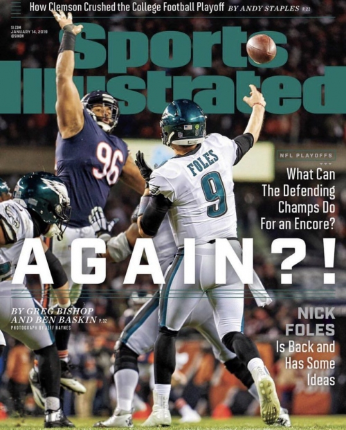 Nick Foles becomes the latest Arizona Wildcat to make the Sports Illustrated cover
