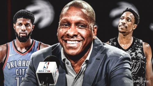 Rumor: Raptors' Masai Ujiri approached Thunder about DeMar DeRozan-Paul George swap last season