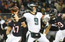 Film review of the Eagles' win over the Bears