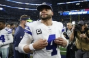Cowboys vs. Rams injury report: Dak Prescott appears on the injury report but practices