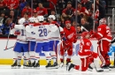 Quick 2nd-period goals help Canadiens edge Red Wings