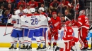 Gallagher, Armia help Canadiens hold off Red Wings