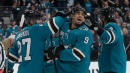 Sharks chase Cam Talbot in easy win over Oilers