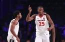 Mamadi Diakite, men's basketball growing in confidence, Olamide Zaccheaus ranks highly