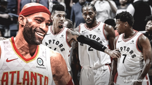 Vince Carter to Raptors security personnel, 'See you next year'