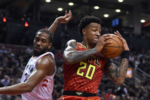 Hawks unable to execute late in close-fought loss to Raptors