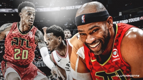 Hawks' Vince Carter sends warm message to Toronto after road game
