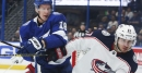 Lightning blocked all kinds of shots against Columbus