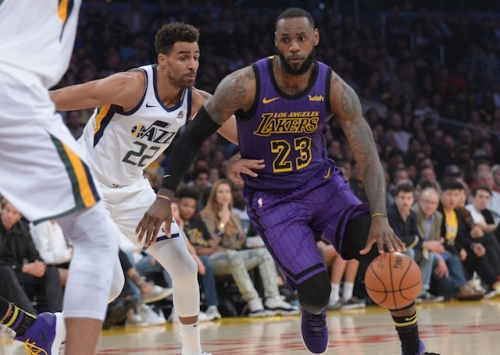 LeBron James Will Remain In Los Angeles To Be Re-Evaluated, Not Join Lakers For Friday's Game Vs. Jazz