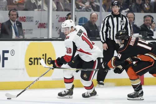 Game 44 Preview: Sens @ Ducks