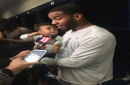 Insider: What it's like to have a baby in the middle of an NFL playoff run