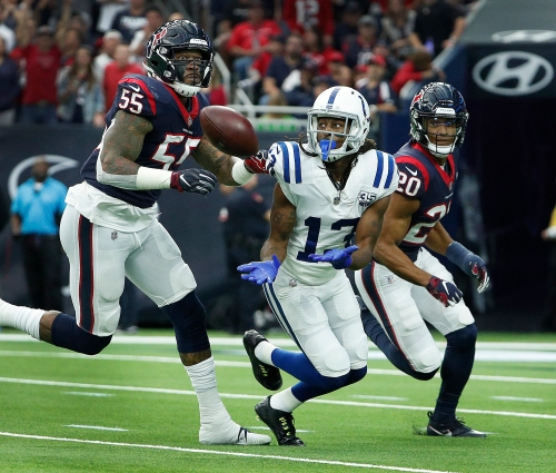 T.Y. Hilton's ankle is getting better; Tyquan Lewis, Malik Hooker held out of practice