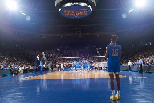 UCLA Men's Volleyball Starts a Three-Match Roadtrip By Visiting CSUN