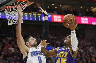Mitchell scores 33 points, Jazz rally to beat Magic