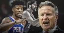Jimmy Butler also brought up T.J. McConnell's role during clash with Sixers coach Brett Brown