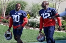 McCourty twins Devin and Jason together again, hoping for playoff run with Patriots