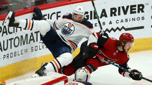 Oilers defenceman Alex Petrovic placed in concussion protocol