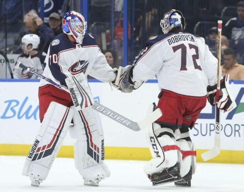 Blue Jackets sit Sergei Bobrovsky for one game citing 'incident'