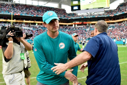 Who are the candidates to be Adam Gase's coordinators with the Jets?