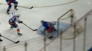 Islanders' Barzal makes Rangers pay with tremendous finish