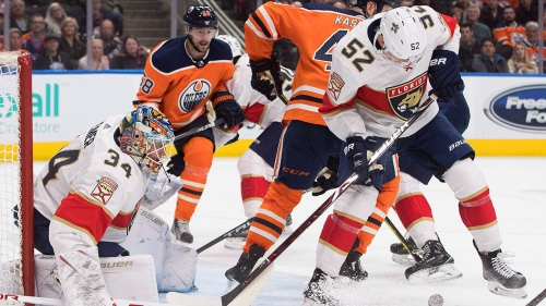 NHL Live Tracker: Oilers vs. Panthers