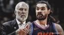Spurs coach Gregg Popovich says Thunder's Steven Adams scares him