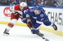 Point, Palat and power play lift Lightning to comeback victory over Carolina