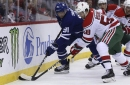 Tavares leads Maple Leafs to victory in Jersey
