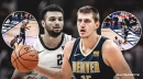 Video: Nuggets' Nikola Jokic throws one-handed, full court assist to Jamal Murray