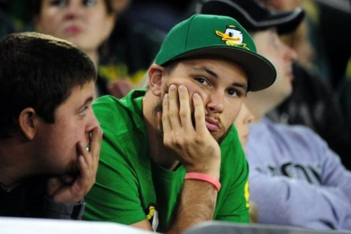 Ducks Couldn't Close out and Lose to the Bruins, 87-84