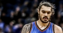 Thunder's Steven Adams exits game vs. Spurs with ankle injury