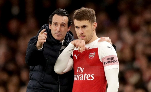Unai Emery and Aaron Ramsey disagreed over his role at Arsenal before he opted to leave