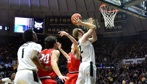 Purdue Men's Basketball: Boilers look to stop Happ and the Badgers