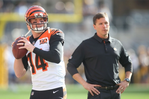 Bengals fire OC Bill Lazor, per report