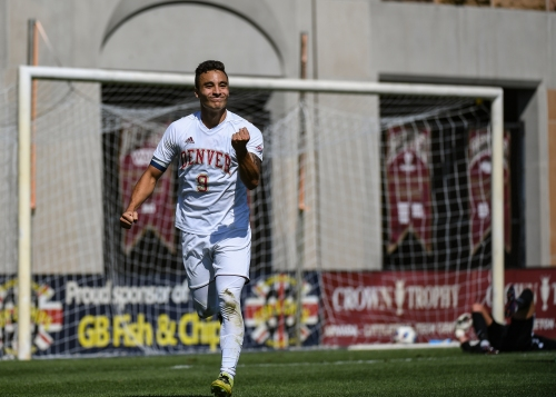 Rapids draft University of Denver star Andre Shinyashiki with 5th overall pick