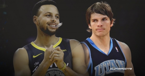 Warriors' Stephen Curry honored to pass Jazz's Kyle Korver on all-time 3-pointers list