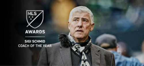 FOR SIGI: MLS coach of the year award named for Schmid